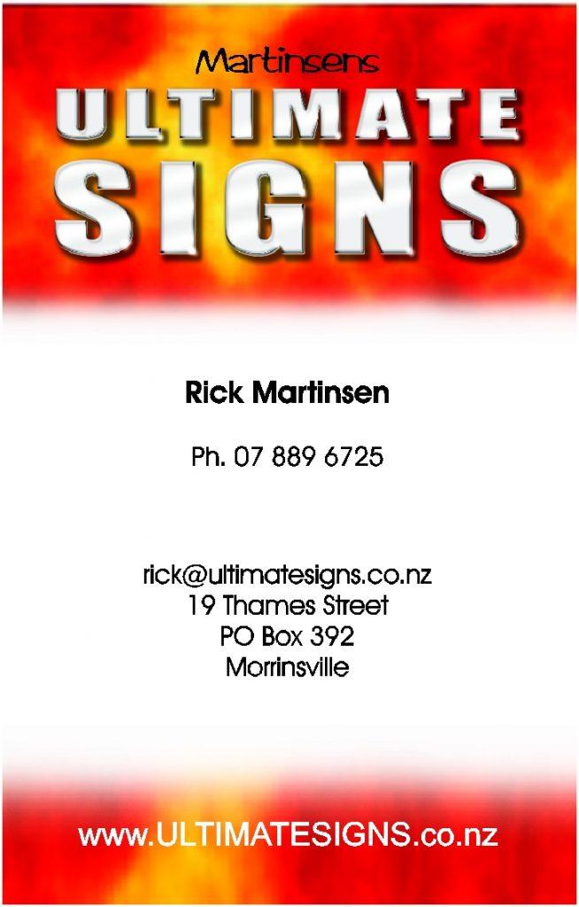 Martinsen Signs (No 31)